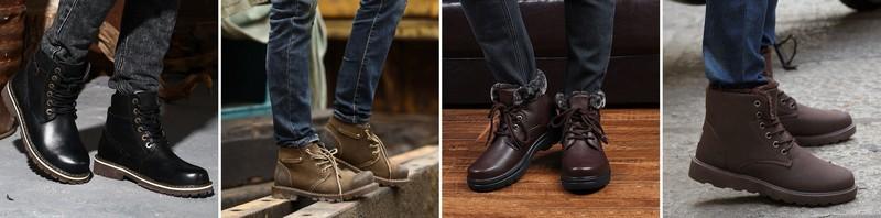 мужские ботинки 2016
