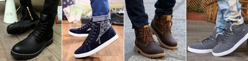 красивая и модная обувь для мужчин