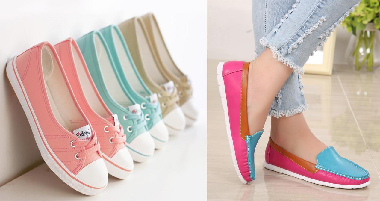 недорогая и модная женская обувь