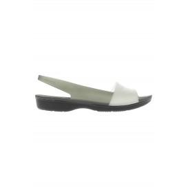 Босоножки ColorBlock Translucent Flat Crocs