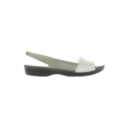 Босоножки ColorBlock Translucent Flat Crocs модель ANW682253 распродажа