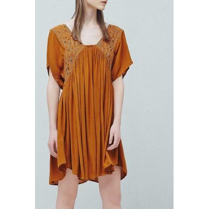 Платье Bordade Mango артикул ANW623081 фото товара