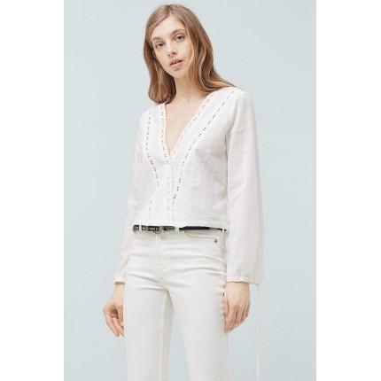 Блузка Cruzada Mango артикул ANW665703 распродажа