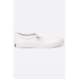 Слипоны Alford White Pepe Jeans