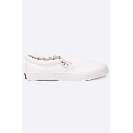 Слипоны Alford White Pepe Jeans модель ANW634932 распродажа