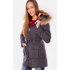 Куртка парка Fracomina модель FRA FR15FW7037 097 распродажа