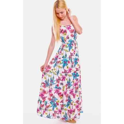 Платье Only артикул ON 15098371 Cloud dancer Paradise