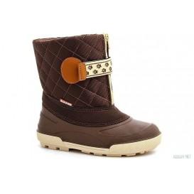 Полусапожки на оттепель Forester Snow 95014-45 Темно-коричневые