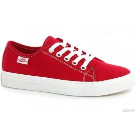 Кеды Las Espadrillas Classic Red 4799-9696 Красный хлопок модель KDF-4799-9696 распродажа