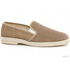 Замшевыеслипоны Las Espadrillas Safari Fv4319-18 Made in Spain