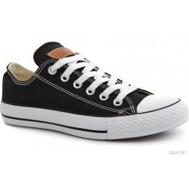 Черные полукеды Las Espadrillas Black Classic Low Le38-9166 Две пары шнурков артикул KDF-LE38-9166 распродажа