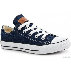 Джинсовые кеды Las Espadrillas Denim Classic Low Le38-9697 Две пары шнурков