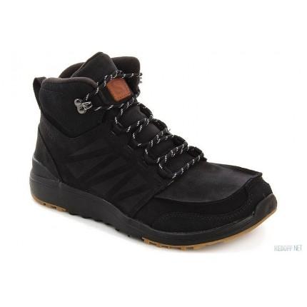 Ботинки Salomon Utility 366425 Black Nubuk модель KDF-366425