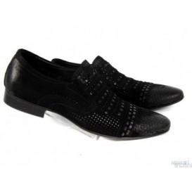 Летние мужские туфли Rozolini AB4-1-B34 замш