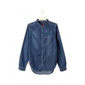 Рубашка джинсовая s.Oliver артикул SO917EGJXL72 распродажа