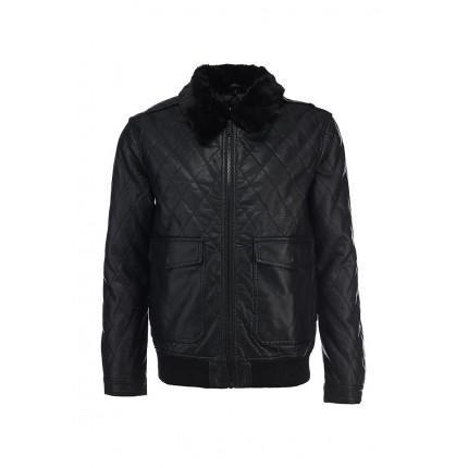 Куртка кожаная Brave Soul артикул BR019EMDFU08 распродажа