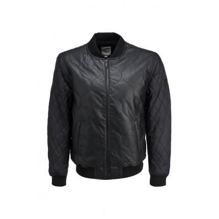 Куртка кожаная Brave Soul модель BR019EMFZJ11