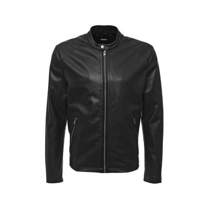 Куртка кожаная Burton Menswear London артикул BU014EMIDY28 распродажа