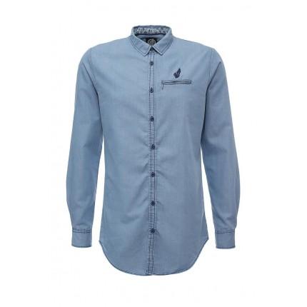 Рубашка джинсовая Hopenlife артикул HO012EMJZX89 купить cо скидкой