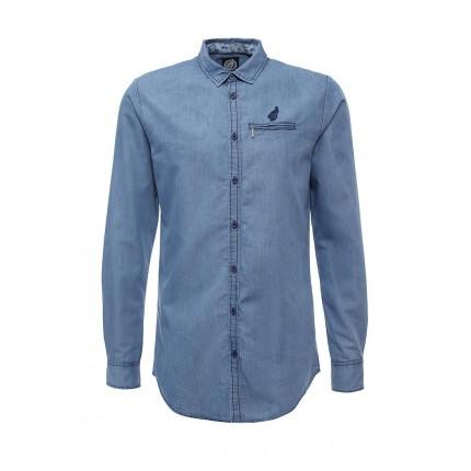 Рубашка джинсовая Hopenlife модель HO012EMJZX90 купить cо скидкой