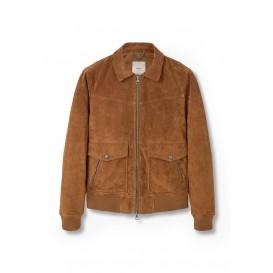 Куртка кожаная - PEG Mango Man