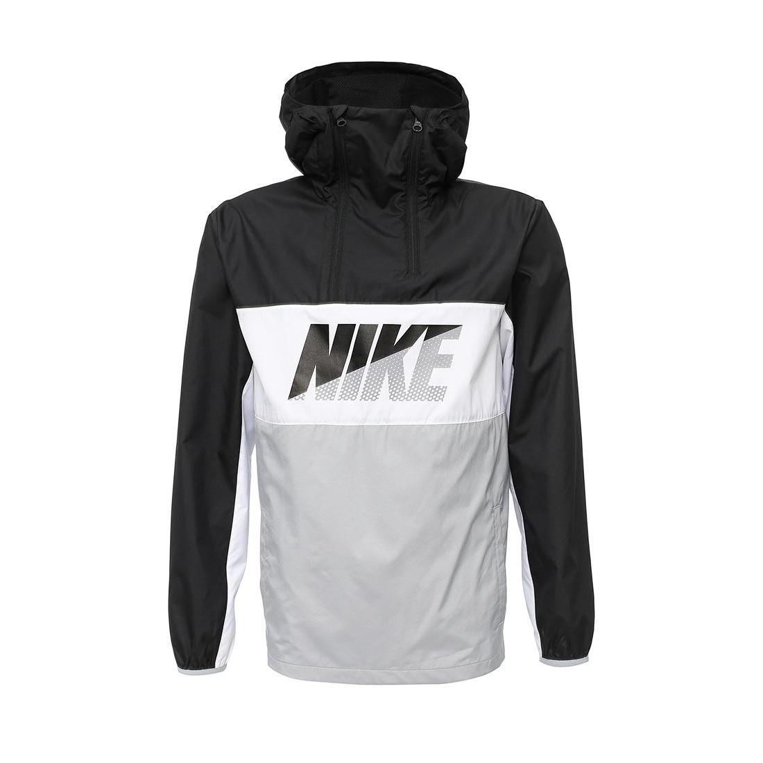 Мужская легкая Ветровка NIKE HALFZIP JACKET Nike MP002XM0VMP3 по акции. 09eeeaec9520b