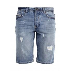 Шорты джинсовые oodji артикул OO001EMJBA23 купить cо скидкой