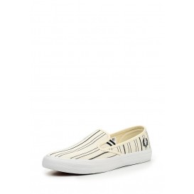Слипоны Turner Slip On Retro Stripe Canvas Fred Perry