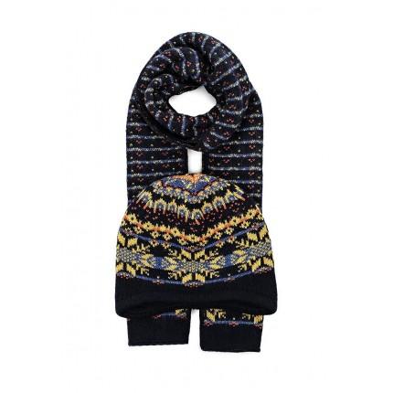 Комплект шапка и шарф Ferz артикул FE913CWMEQ89 купить cо скидкой