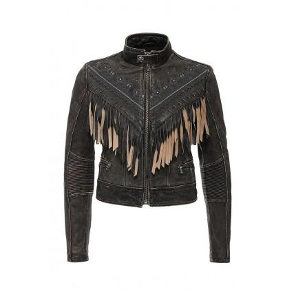 Куртка кожаная LOST LOVE JACKET Affliction модель AF405EWJMM07