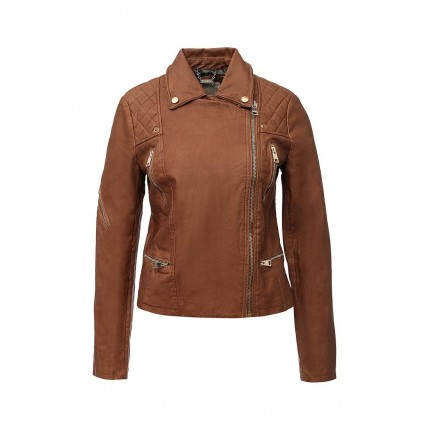 Куртка кожаная Alcott артикул AL006EWIZM67
