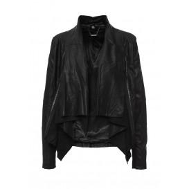 Куртка кожаная B.Style артикул BS002EWHJP82 купить cо скидкой