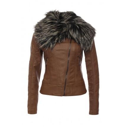 Куртка кожаная B.Style артикул BS002EWKRH63 фото товара