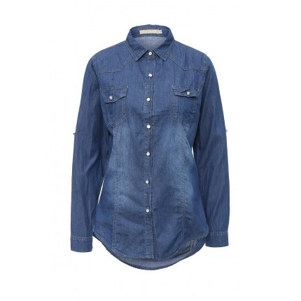 Рубашка джинсовая By Swan артикул BY004EWMGX11 фото товара
