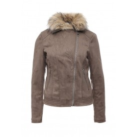 Куртка кожаная Dorothy Perkins артикул DO005EWLSJ83 распродажа