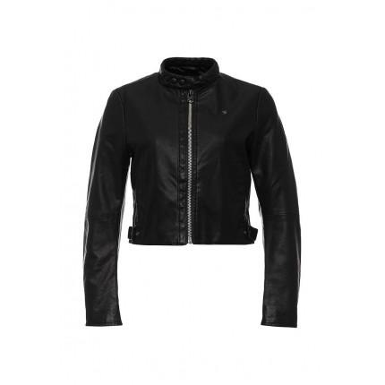 Куртка кожаная G-Star артикул GS001EWJBY21 распродажа