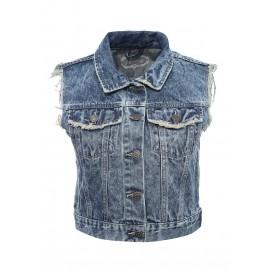 Жилет джинсовый Jennyfer артикул JE008EWMAK33 распродажа
