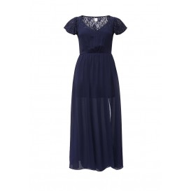 Платье MAXI DRESS WITH LACE Just Joan