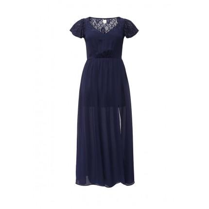 Платье MAXI DRESS WITH LACE Just Joan модель JU014EWHCM78 распродажа