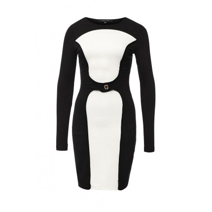 Платье JULIE MONO BODYCON LOST INK артикул LO019EWGCQ34 cо скидкой