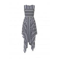 Платье CELIA ASYM STRIPE DRESS LOST INK