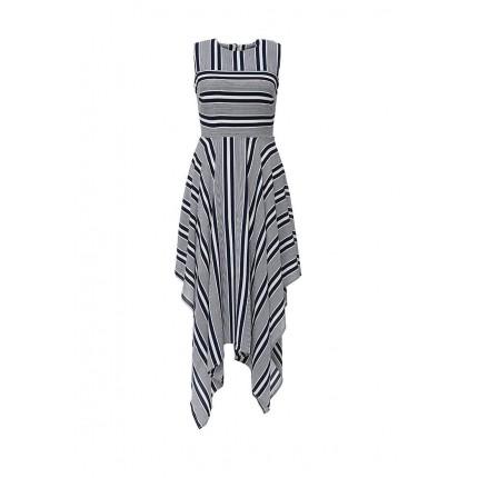 Платье CELIA ASYM STRIPE DRESS LOST INK модель LO019EWGIT07