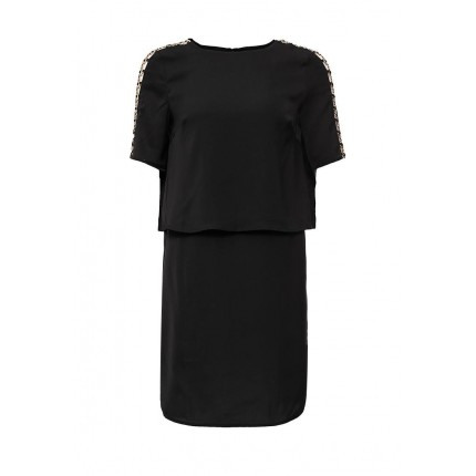 Платье METAL TRIM SLEEVE DRESS LOST INK модель LO019EWGIT26