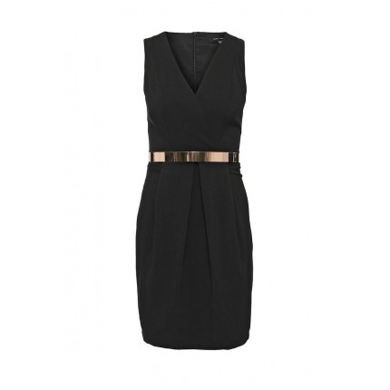 Платье TULIP WRAP DETAIL DRESS LOST INK модель LO019EWGMK10 распродажа