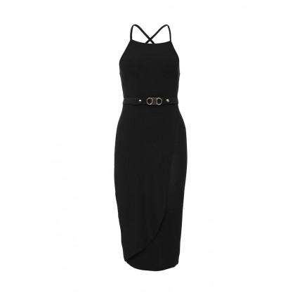 Платье GINA DRAPE ASYMMETRIC LOST INK артикул LO019EWGSN92 cо скидкой