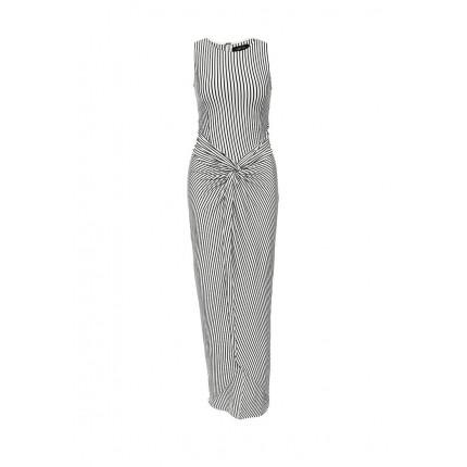 Платье AMMIE TWIST FRONT STRIPE MAXI LOST INK модель LO019EWGTV69 фото товара
