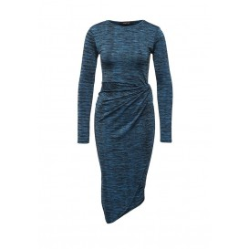 Платье MARSOM TWIST DRESS LOST INK