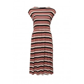 Платье TINA WRAP BACK DRESS IN STRIPE LOST INK артикул LO019EWGXM93