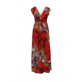 Платье MADISON PRINTED MAXI DRESS LOST INK модель LO019EWHCB77 распродажа