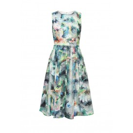 Платье MIKA FEATHER EMBROIDERED DRESS LOST INK артикул LO019EWHDW02 фото товара